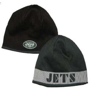 New York Jets NFL Team Apparel Reversible Knit & Fleece