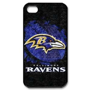 Designed iPhone 4/4s Hard Cases Ravens team logo Cell