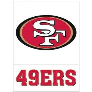 49ERS   NFL Football Team   Sticker Decal   #S0132 Automotive