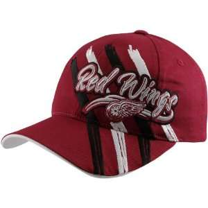 Hockey Detroit Red Wings Youth Red Duncan Adjustable Hat Sports