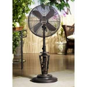 Vines 18 inch Deco Adjustable Outdoor Standing Fan