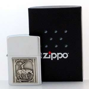 Native American Zippo Lighter   Indian & Horse Home
