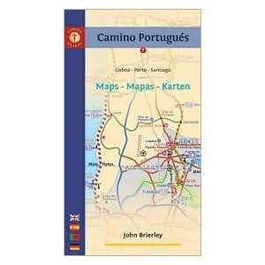 Camino Portugues Maps   Mapas   Karten Publisher Findhorn