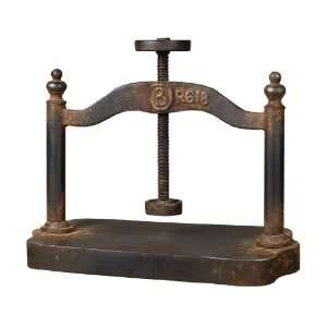 Sterling Industries 129 1009 Cast Iron Book Press