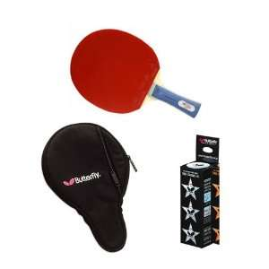 Advanced Table Tennis Racket and Accessory Set