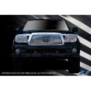 SES Trims Chrome Billet Upper Grille 06 10 Toyota Tacoma