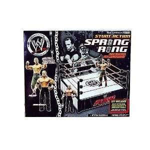 WWE Jakks Pacific Wrestling Stunt Action Spring Ring with John Cena