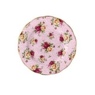 Royal Albert Collectible Teas Ruby Lace Salad Plate Royal Albert