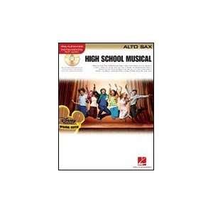 High School Musical Book & CD   Alto Saxophone Musical Instruments