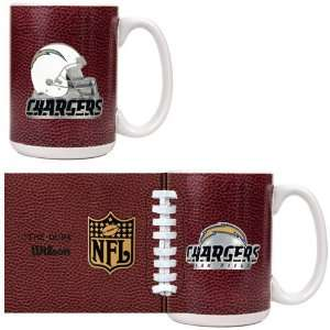 BSS   San Diego Chargers NFL 2pc GameBall Coffee Mug Set