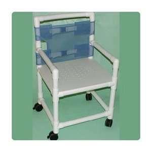 DURALIFE Wheeled Shower Chair Chair   Model 564202 Health