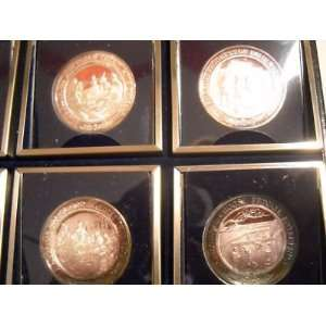 Pilgrin Heritage Silver 999 fine silver medal Set Box