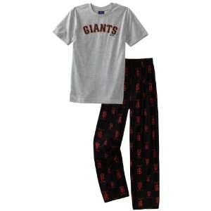 MLB Youth San Francisco Giants 2Pc Sleepwear Team Set