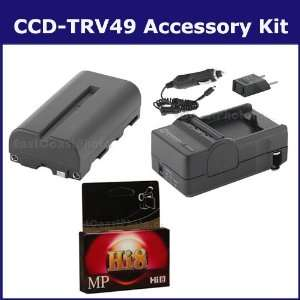 Sony CCD TRV49 Camcorder Accessory Kit includes SDNPF570