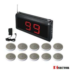 System Guest Paging Restaurant Pager Wireless Calling Electronics