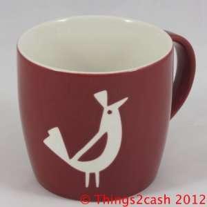 Starbucks Coffee 2011 Christmas Bird Mug 16 fl. oz
