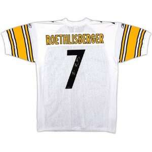 Ben Roethlisberger Pittsburgh Steelers Autographed White Jersey