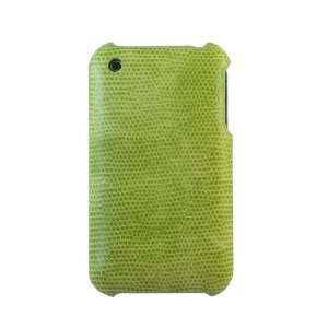CASETRONICS Green Snakeskin Hard Shell Case for Apple iPhone 3G / 3GS