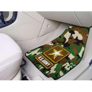 Military U.S. Army 2 Piece Cromo Jet Printed Floor Car Mat