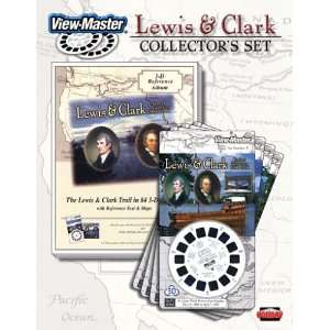 View Master 3D 3 Reel Cards Lewis & Clark Collectors Set
