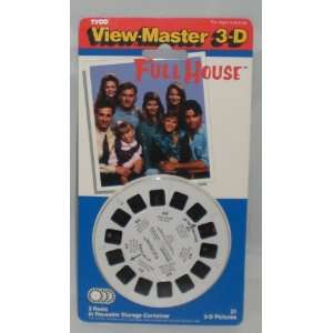 Full House View Master 3 reel Set in 3d Toys & Games