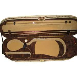 Vio music Half Moon Violin Case, Full size 4/4 Musical