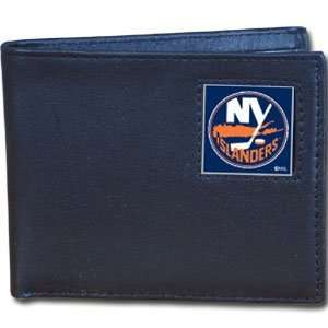 New York Islanders Leather Bifold Boxed Wallet   NHL