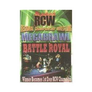 RCW Megabrawl DVD Everything Else
