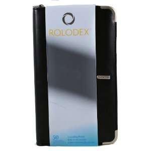 47236 Binder, Contact/business Card, Cascading, A Z Guides, Zipper