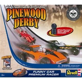 Black Magic Pinewood Derby Car Kit  Toys & Games
