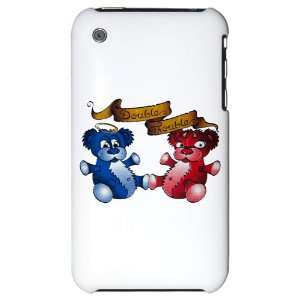3G Hard Case Double Trouble Bears Angel and Devil