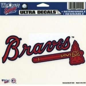 Atlanta Braves   Logo Decal   Sticker MLB Pro Baseball