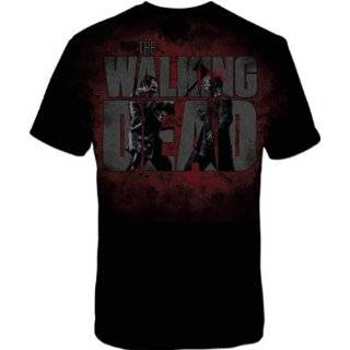 The Walking Dead Axed Zombie Mens T shirt