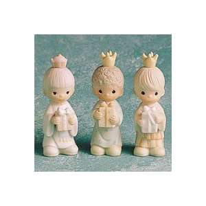 Precious Moments Wee Three Kings Nativity Figurines