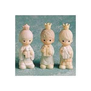Precious Moments Wee Three Kings Nativity Figurines