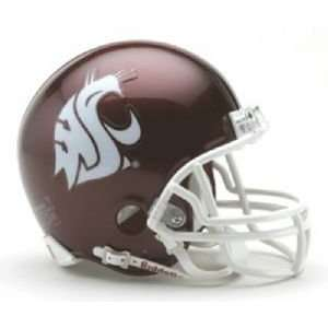com Washington State Cougars Miniature Replica NCAA Helmet w/Z2B Mask