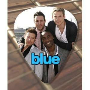 Blue (Boy Band) Premium Guitar Pick x 5 Musical