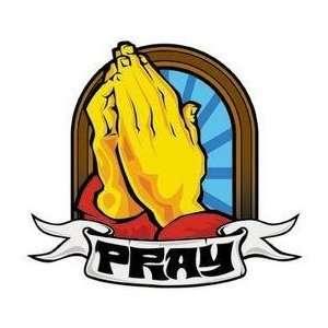 Prayer Hands   Sticker / Decal Arts, Crafts & Sewing