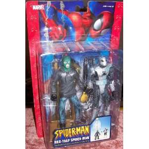 MAN WEB TRAP SPIDER MAN with Missile Launching Action and web trap