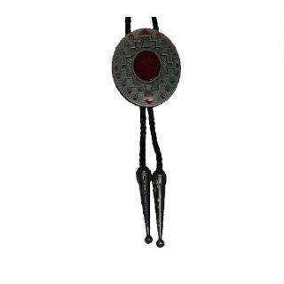 Native American Indian Art Bolo Tie   059 Clothing