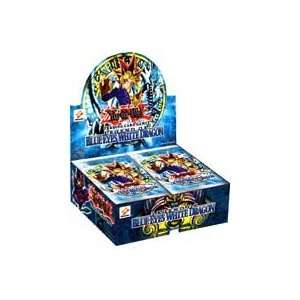 Yu Gi Oh Legend of Blue Eyes White Dragon Booster Card Box  Toys
