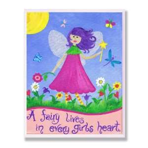 The Kids Room Fairy Lives in Every Girls Heart Wall