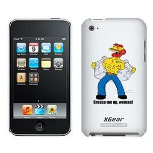 Groundskeeper Willie The Simpsons on iPod Touch 4G XGear