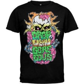 DROP DEAD GORGEOUS   Word   Black T shirt Clothing