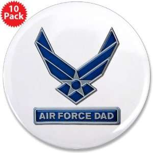 3.5 Button (10 Pack) Air Force Dad