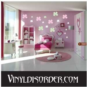 216 Four Leaf Clover Clovers Vinyl Wall Decal Stickers Kit