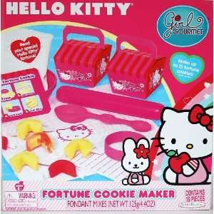Girl Gourmet Hello Kitty Fortune Cookie Maker Toys