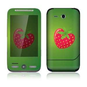 StrawBerry Love Decorative Skin Decal Sticker for HTC Freestyle
