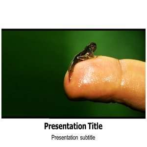 Frog Background  Frog Tadpole Powerpoint Templates Frog Tadpol