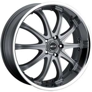 MSR 96 20x7.5 Gray Wheel / Rim 4x4.5 with a 40mm Offset and a 82.80